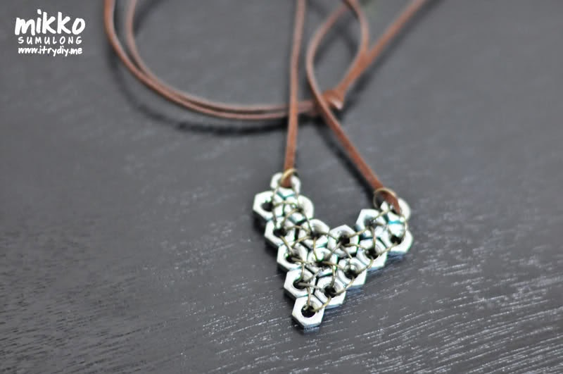 Hex nut pendant i try diy mozeypictures Images