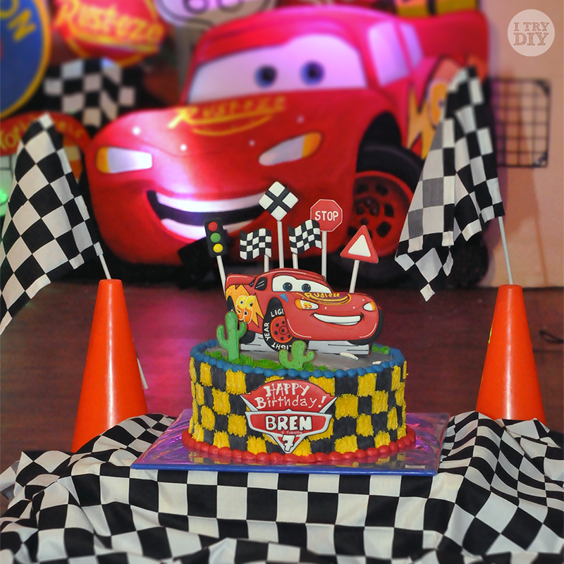 I Try DIY | Bren's Disney Cars 7th Birthday Party!