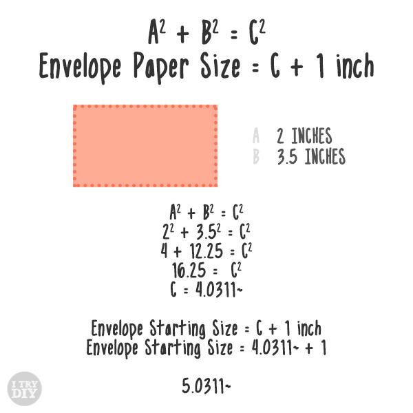 I Try DIY | DIY Envelopes
