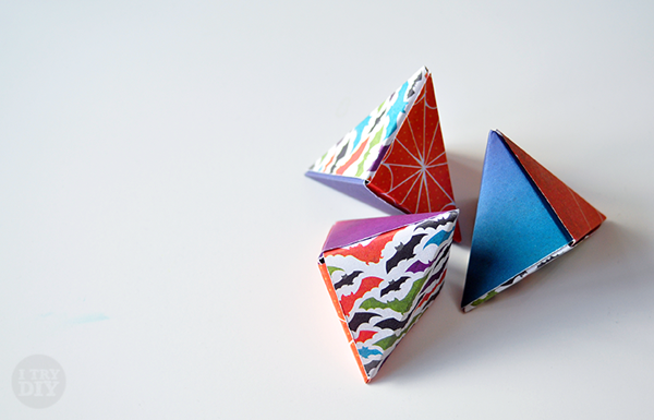 Its A Wrap Triangle Origami Boxes I Try Diy