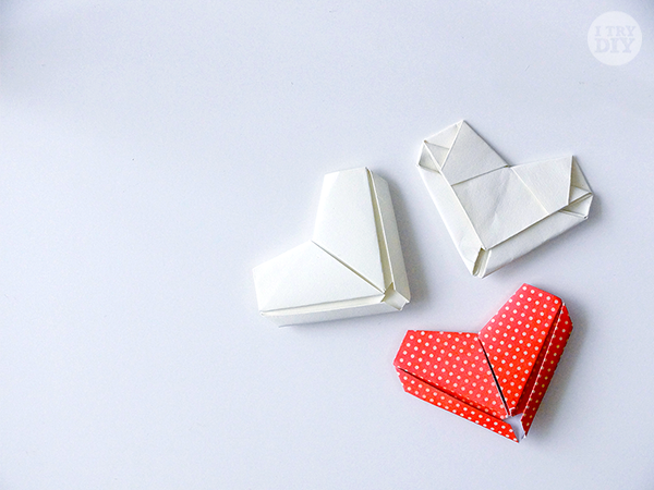How to Fold a Letter into an Origami Heart | I Try DIY