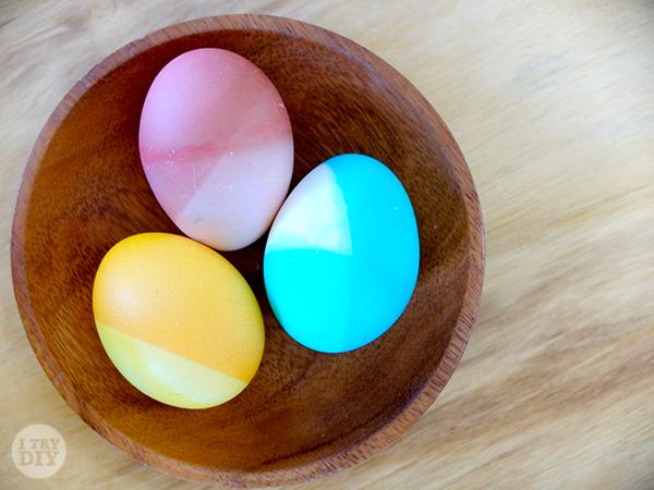 I Try DIY | Mikko Tries to Dip Dye Easter Eggs