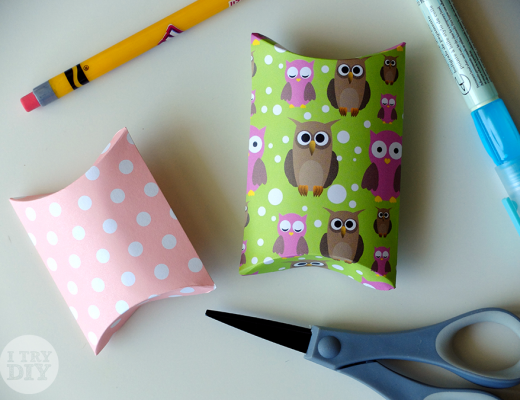 I Try DIY | How to Make Pillow Boxes