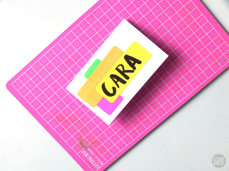 I Try DIY | Quick and Easy Neon Nameplates