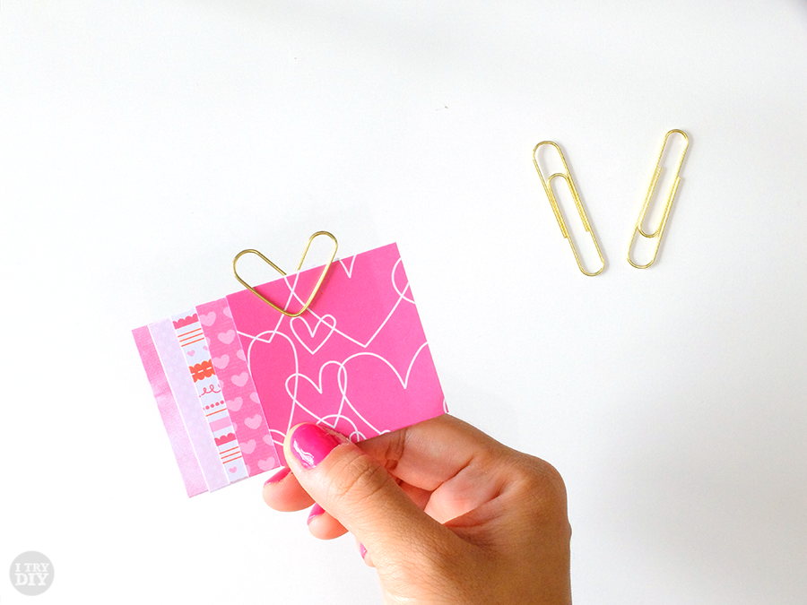 I Try DIY | Paper Clip Hearts