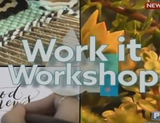 GMA's Good News: The Basics of Weaving Workshop