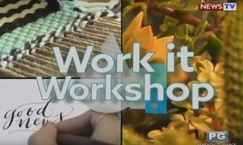 GMA's Good News: The Basics of Weaving Workshop