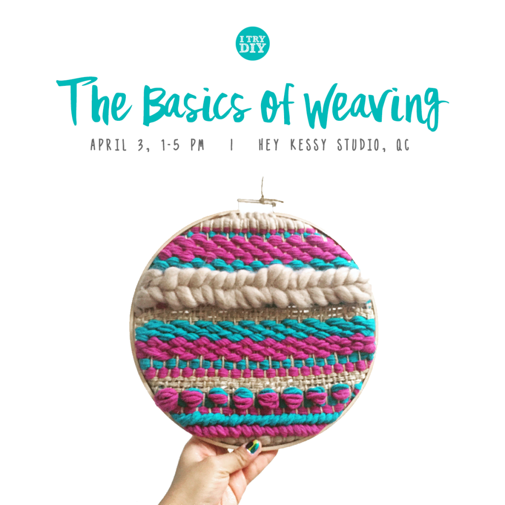 I Try DIY | GMA's Good News: The Basics of Weaving Workshop