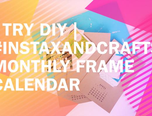 I-Try-DIY-InstaxAndCrafts-Monthly-Frame-Calendar