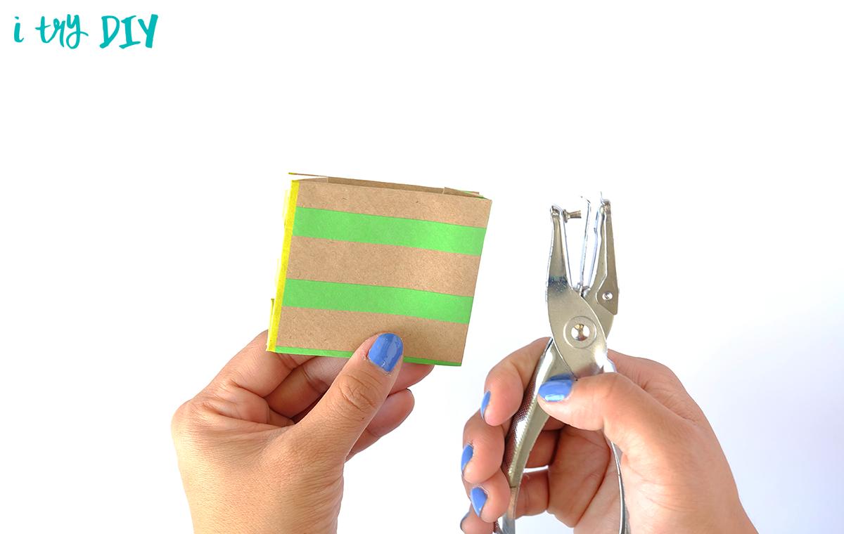 I Try DIY | Mini Origami Shopping Bag