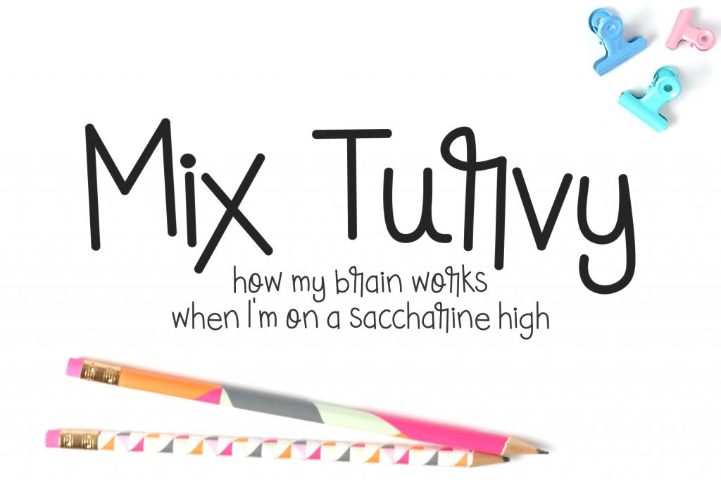 I Try DIY | Font Fix: Mix Turvy