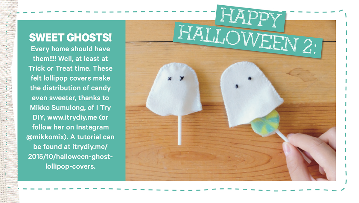 I Try DIY | Ghost Lollipop Covers Tutorial in Homespun AU!