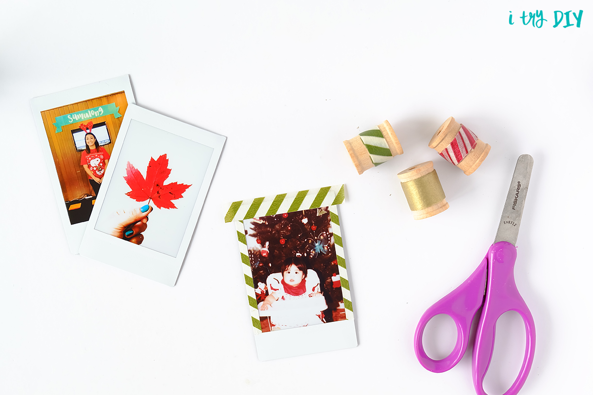 I Try DIY   Instax Gift Tags
