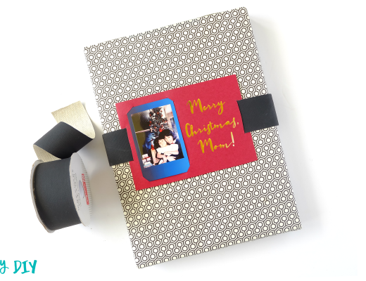 Instax and Crafts - Belted Gift Tag Card