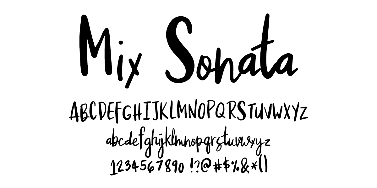 I Try DIY | Font Fix: Mix Sonata