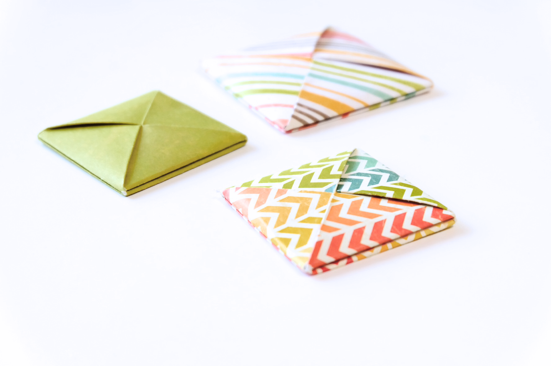 Origami Envelope From Square Paper